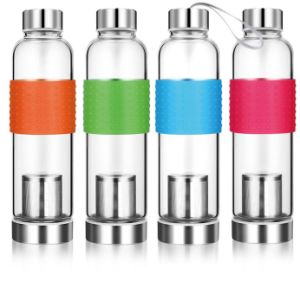 550ml Hand Blown High Borosilicate Portable Glass Cup Gift Cup pictures & photos