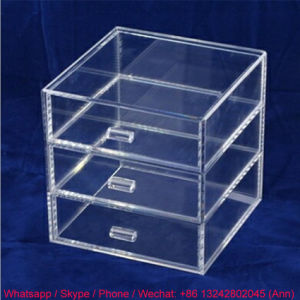 Clear Acrylic Storage Box with Drawers pictures & photos