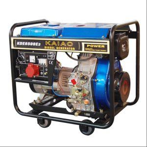 portable diesel generator 5kva 3 phase230 400v generator kde6500e3