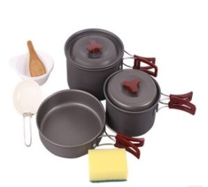 Hard Anodized Aluminum Camping Cookware