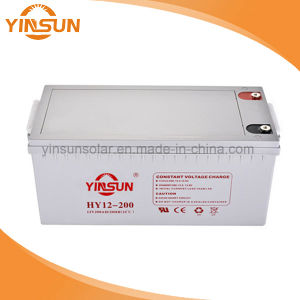 12V200ah Lead Acid Battery for Home Solar Energy PV System pictures & photos