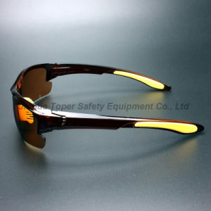 Anti-Scratch PC Brown Lens Safety Goggles (SG131) pictures & photos