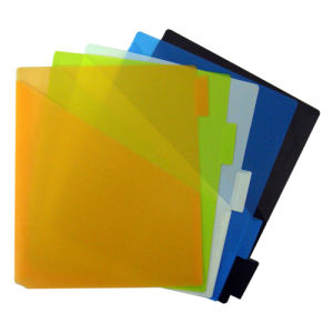 PP Index Dividers/ Plastic File Folder (B3111) pictures & photos