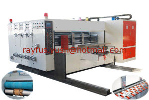 Flexo Printing Slotting Die-Cutting Machine with Automatic Lead-Edge Feeding pictures & photos