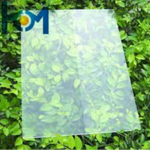 3.2mm Low Iron Tempered Energy Collector Glass for Solar Panel pictures & photos