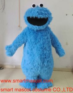 Adult Sesame Street Cookie Monster Mascot Costume Monster Costumes