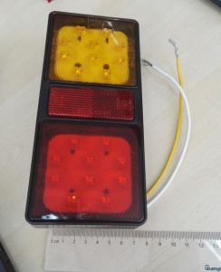 Tail/Stop/Turn Signal Reflector Lamp Lt-113 with E4 /E9 Certification pictures & photos