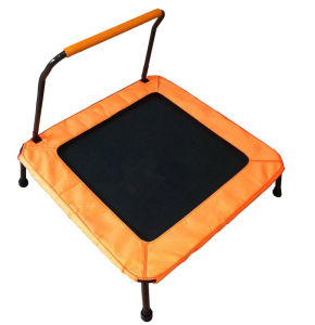 Sld38inch Polygon Fitness Trampoline Trampoline with Handrail pictures & photos