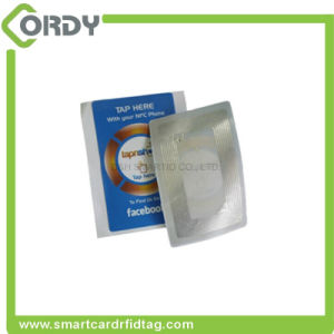 Printable roll adhesive Paper /PET RFID UHF Tag Stickers pictures & photos