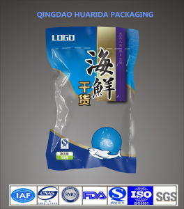 Custom Printed Plastic Frozen Seafood Packaging Bag pictures & photos