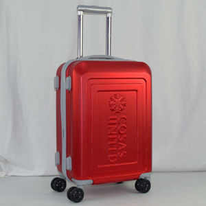 2017 Fashion ABS Trolley Case with Logo Embossed pictures & photos