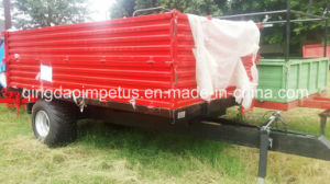 5 Ton Two Panels Farm Tipping Trailer Hot Selling in Africa pictures & photos