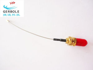 White Grey RF Coaxial Antenna Cable