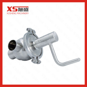 Stainless Steel 304 316L Manual Divert Seat Valve pictures & photos