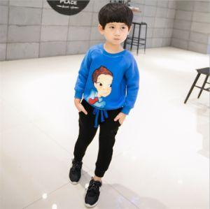 Ks41 Fashion T-Shirt + Pants Suits Microfleece Casual Children Apparel pictures & photos