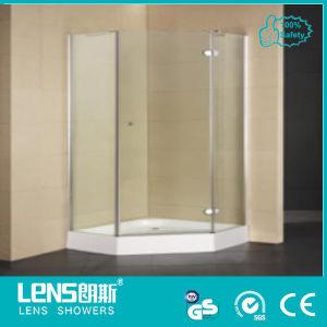 Cost-Effective Design 2013, 8mm Tempered Glass Hinge Door Diamond Shower Enclosure Lens C-104