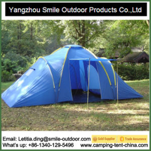 Short Production 6 Person Outdoor Family Camping Tent pictures & photos
