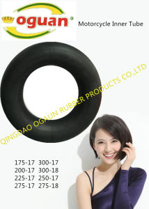 High Quality Natural Rubber Inner Tube of Motorcycle pictures & photos