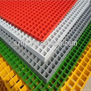 Good Quality Fiberglass Molded Grating FRP Molded Grating GRP Molded Grating Fiberglass Grille FRP Grille GRP Grille From Qinhuangdao Shengze pictures & photos