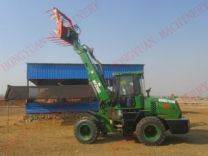 Mini Wheel Loader with Telescopic Handler pictures & photos