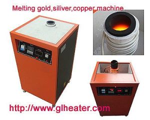 Induction Melting Furnace Melting Small Amount Gold Silver Copper Platinum Bronze etc pictures & photos