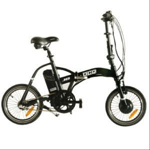 Outstanding 16 Inch Lithium Battery Folding Electric Mini Pocket Bike (JB-TDR02Z) pictures & photos