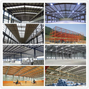 Pre Engineered Steel Structure for Warehouse, Workshop, Steel Building pictures & photos
