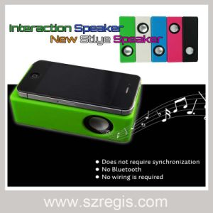 Audio Amplifying Magic Wireless Speaker for iPhone/iPod Samsung HTC pictures & photos