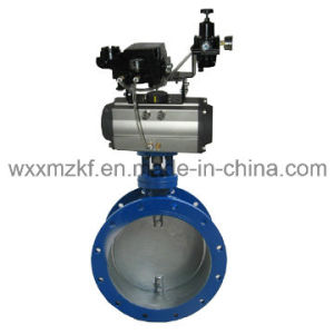 Pneumatic Butterfly Valve (CE) pictures & photos