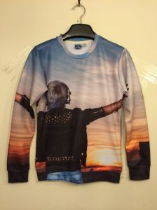 Scenery 3D Printing Sunset T Shirt Long Sleeve Spring pictures & photos