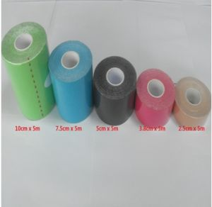 Hot Sale Fashion High Quality Colored Sports Kinesiology Therapy Tape pictures & photos