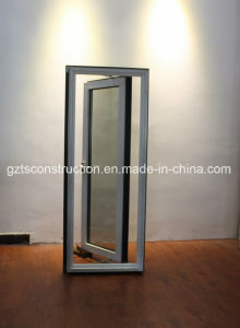 60series Good Quality and Reasonable Price Aluminum Thermal Break Double Glass Window pictures & photos