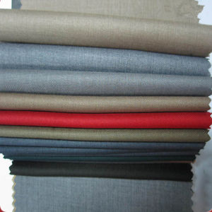 High Quality Polyester/Rayon Twill Fabric pictures & photos