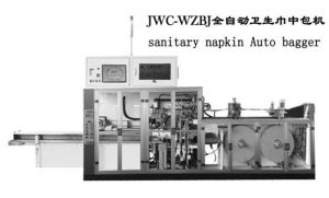 Full Servo Sanitary Napkin Bagger Machine pictures & photos