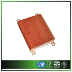 Copper Skived Fin Heat Sink for Medical Equipment pictures & photos