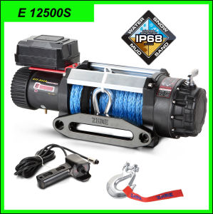 12V/24V 12500lbs Auto Winch pictures & photos