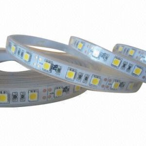3528 SMD LED Strip Tape Light 12V DC Warm White 120 LEDs/Meter IP67 Waterproof UL Listed pictures & photos