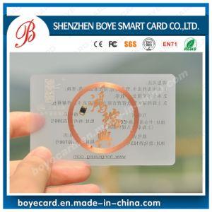 Chip Inlays Transparent Smart Card pictures & photos