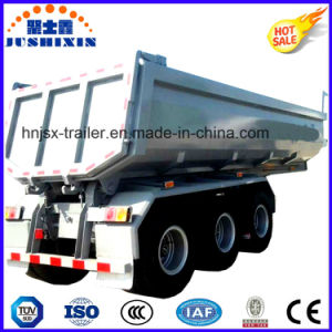 Hot Selling 3 Fuwa Axles 60ton Rear Tipper Trailer Tractor Semi Dumper Truck Trailer Sold to Vietnam Market pictures & photos