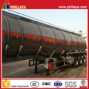 Fuel Tanker Truck Semi Trailer Stainless Steel Tank pictures & photos