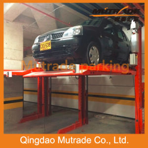 Double Space Hydraulic Two Post Car Lift pictures & photos