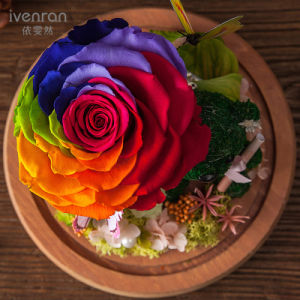 100% Natural Real Flower Handmade for Holiday Decoration Valentine′s Day Birthday Gift pictures & photos
