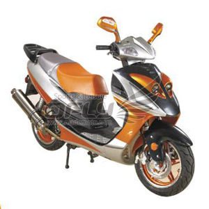 Motorcycle (YY50QT-12D(2T)) pictures & photos