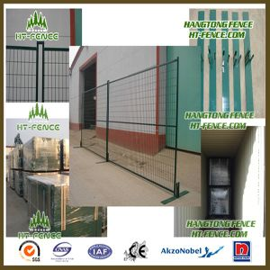 Hot Sale Dark Green Rental Temporary Fence pictures & photos
