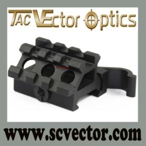 "Vector Optics 3/4"" Quick Release Riser Mount Base Top & Offset Picatinny Rail 1 3/5"" L Gun Accessories pictures & photos"