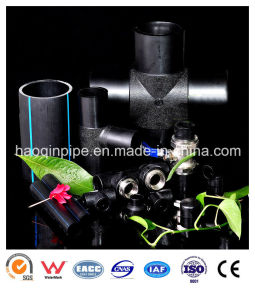High Quality PE Pipe and Fitting for Water Supply pictures & photos