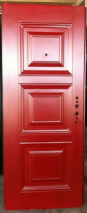 Simple Design Deep Embossing Panel Door pictures & photos