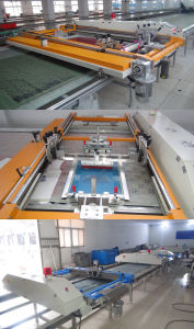 Hot Flatbed Automatic Screen Silk Printing Machine pictures & photos