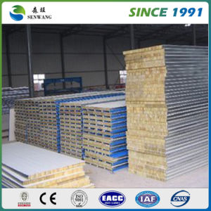 High Quality Building Material Insulation Glass Fiber Sandwich Panel pictures & photos