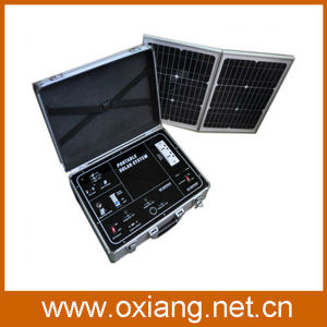 DC&AC Portable Solar Power Generator System 500W for Home Usage pictures & photos